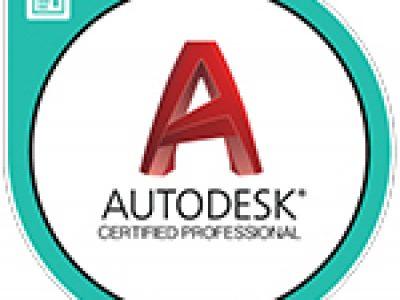 AutoCADプロフェッショナル試験に合格しました。