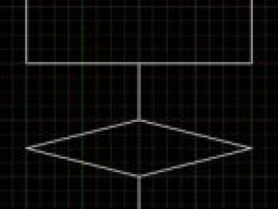 特許図面でフローチャート記号を素早く描く