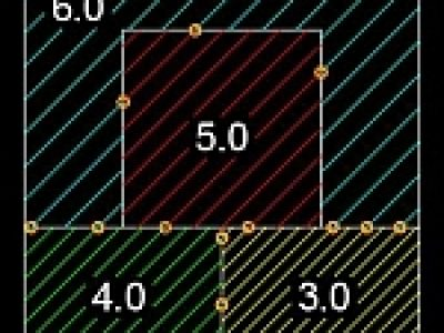 ユーザ定義パターンを使ったハッチング