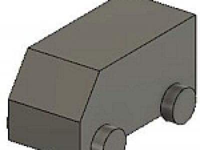 寸法値が不明なDXFをFusion 360上で立体化する
