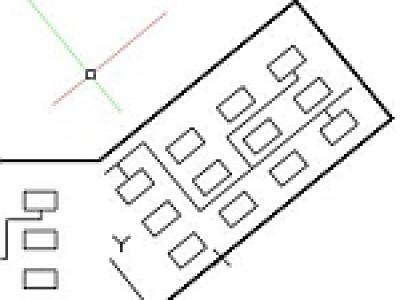 2D図面でユーザ座標系を使う
