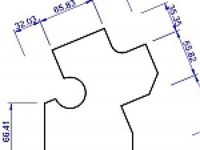 複雑な形状への寸法記入
