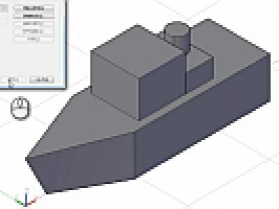 AutoCAD LTで3Dデータを表示する