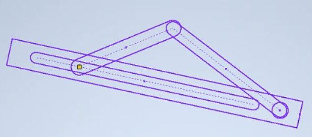 点と直線の一致拘束