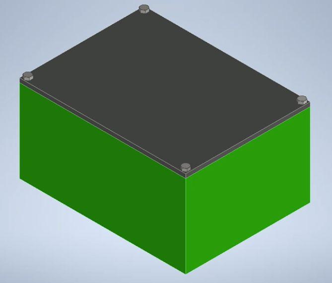箱のアセンブリモデル